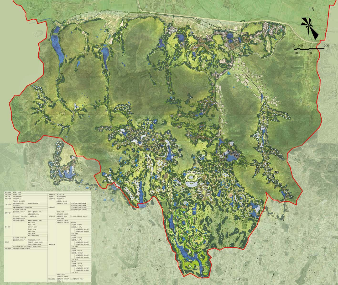 古隆中风景区规划设计